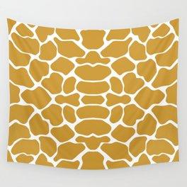 Sudan Brown Safari Giraffe Wall Tapestry