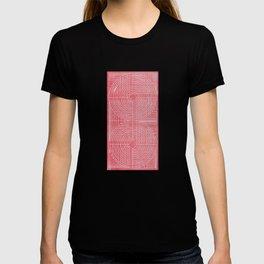 Robotic Boobs Red T-shirt