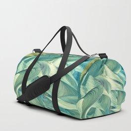 Blue Men Duffle Bag