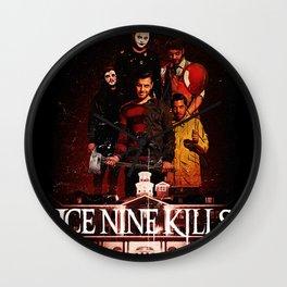 ice nine kills the silver scream best tour 2019 2020 napitupulu Wall Clock
