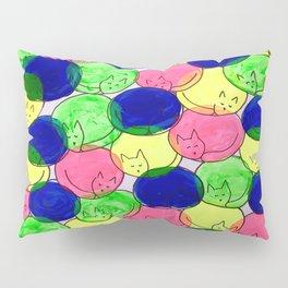 Kitty cuddles Pillow Sham