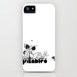 gotyahback B/W iPhone Case