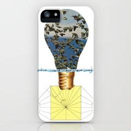 Ideas Come, Ideas Go iPhone Case