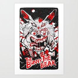 Demon Fluff Art Print