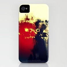 abstract lovers iPhone (4, 4s) Slim Case