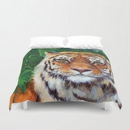 Bagheera the Tiger Duvet Cover