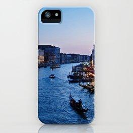 Venice at dusk - Il Gran Canale iPhone Case