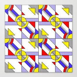 Pop Art Pattern Canvas Print