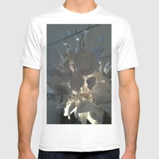 MoMa Broken Plates Mens Fitted Tee White MEDIUM
