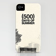 (500) Days of Summer iPhone (4, 4s) Slim Case
