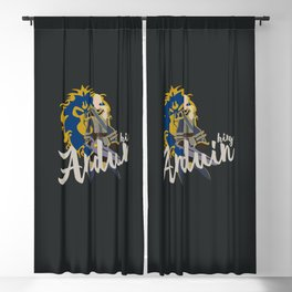 PEOPLE of AZEROTH: Anduin Blackout Curtain