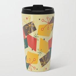 Mid Century Modern Futuro (gold) Travel Mug
