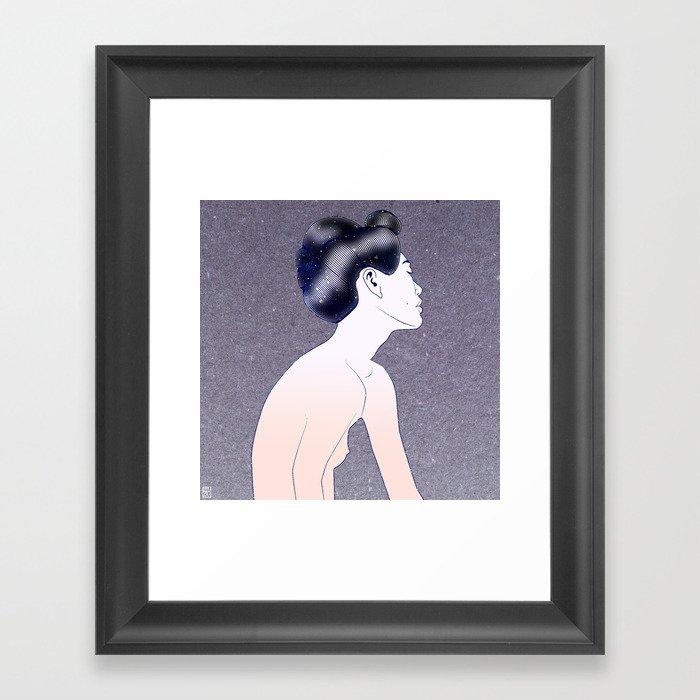 Debutante Framed Art Print