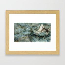 Sail Away Framed Art Print