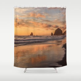 Sunset Stage Right Shower Curtain