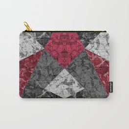 Marble Geometric Background G431 Carry-All Pouch