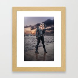 Black Canary Framed Art Print