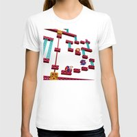 donkey kong T-shirts featuring Inside Donkey Kong stage 3 by Metin Seven