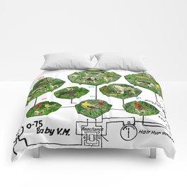 3D ZOO ALT. 3 Comforters