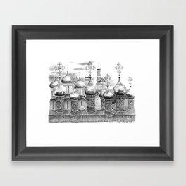 Moscow Kremlin Cupolas G2009-048 Framed Art Print