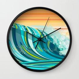 LIQUID SOLACE Wall Clock