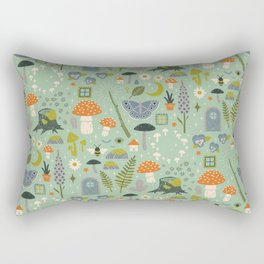 Fairy Garden Rectangular Pillow