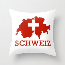 Schweiz Throw Pillow