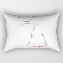 Amarra (tie up) Rectangular Pillow