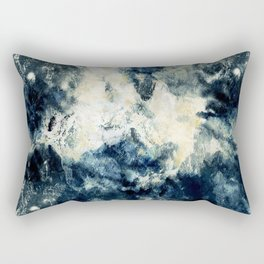 Drowning in Waves Texture Rectangular Pillow