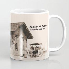 Addison Railroad Station, Ticonderoga Coffee Mug