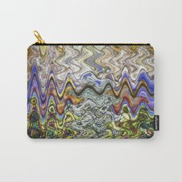 Stain Glass Wave Carry-All Pouch