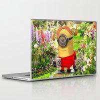 minion Laptop & iPad Skins featuring MINION by DisPrints