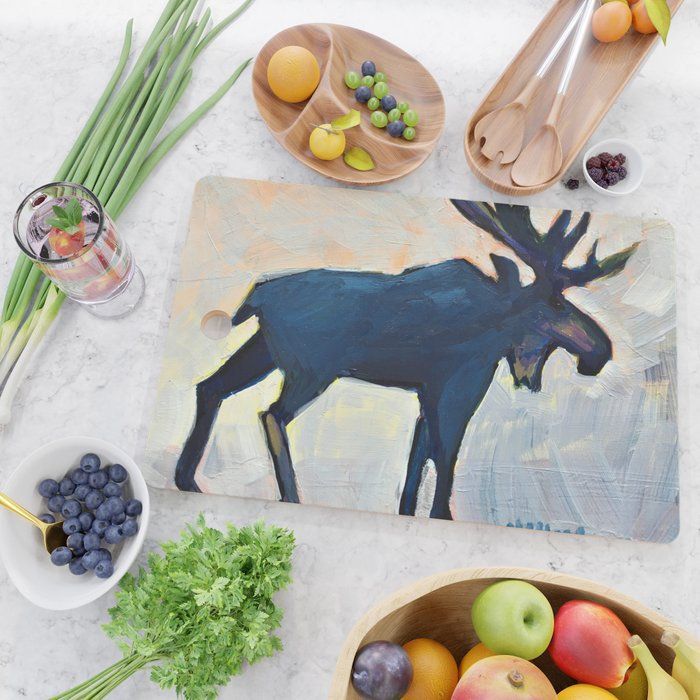 Appreciation - Moose Cutting Board
