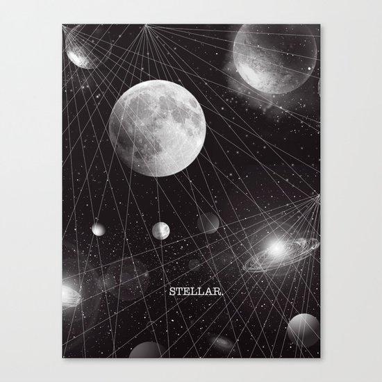 STELLAR. Canvas Print