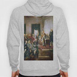 The Signing of the Constitution of the United States - Howard Chandler Christy Hoody