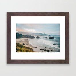 Alone in the beauty of the earth Framed Art Print