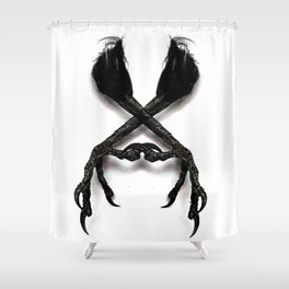 Chicken Feet Shower Curtain