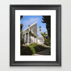 San Diego Modern Pathway Framed Art Print