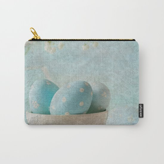 Limpet shell color eggs  Carry-All Pouch