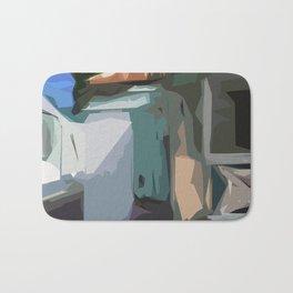 ST. Maarten Color Block House  Bath Mat