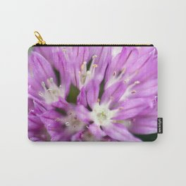 Macro Chive Blossom 4 Carry-All Pouch