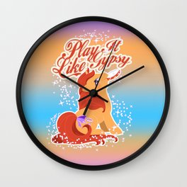 Play it Like Gypsy Wall Clock