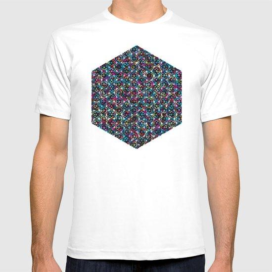 Stardust Geometric Art Print. T-shirt