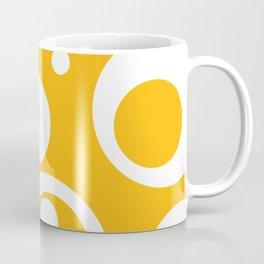 Circles Dots Bubbles :: Mango Coffee Mug