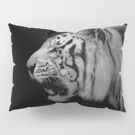 White Tiger Portrair Pillow Sham