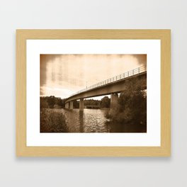 Bridge 67 Framed Art Print