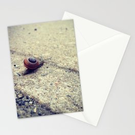Snailing Around Stationery Cards