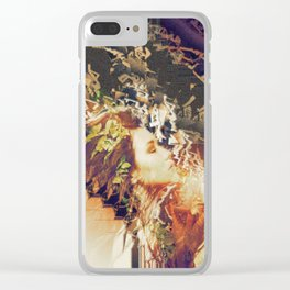 Tell the Wind and Fire. Clear iPhone Case