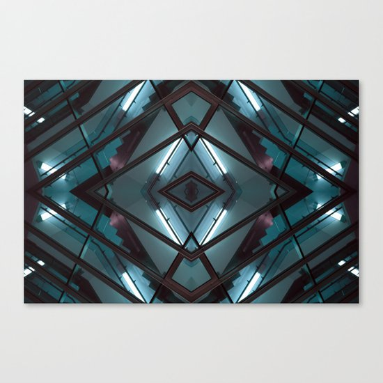 JWS 1111 (Symmetry Series) Canvas Print