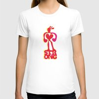 strong T-shirts featuring Strong! by Daily Thoughts